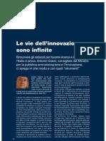 Le Vie Dell'Innovazione Sono Infinite. Intervista Ad Antonio Cianci - Egov 2-2010