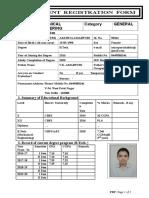 Placement Registration Form 2014
