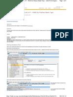 SAP substitution rule for vendor partner bank type