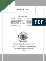 Makalah Job Analysis