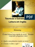 Aula Sobre Técnicas de Leitura