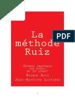 Méthode Ruiz PDF 2016