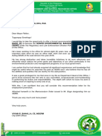 Recommendation Letter 2018
