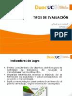 2 1 1 Presentacion Sobre Tipos de Evaluaciones de Capacitacion en SSO
