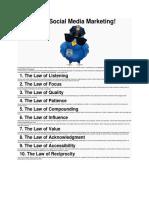 10 Laws of Social Media Marketing.docx