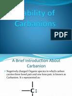 Sabir Carbanion