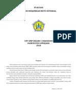 Form Evaluasi SPMI 2018 SMPN 1 Sukodono