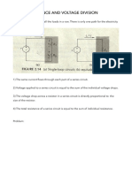 Series Resistance and Voltage Division