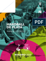 Manual Tecnico de Handball de Playa