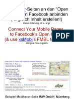 xsMobi creates likeable pages for Facebook