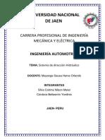 INFORME TECNICO SISTEMA DE DIRECCION  MINIVAN.pdf