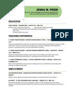 resume 4 8