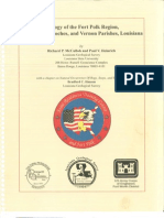 Geology of Fort Polk Region, Louisiana