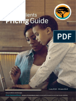 Private Clients Pricing Guide