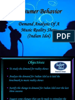 DEMAND ANALYSIS OF MUSIC REALITY SHOW.ppt