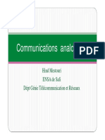 la communication analogique