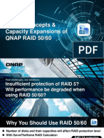 RAID 50 and 60