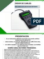 Medidor de Cables