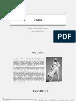 ZARA Estudio Marketing Mix (Sandra Sarmiento Castillo)