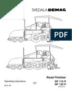 Demag Df 115p Wheel Paver