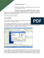 Criando um serviço e importando xml.docx