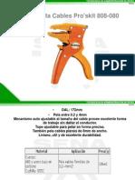 Pela y Corta Cables Pro'Skit 808-080