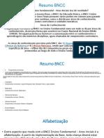Resumo BNCC