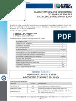 1 Classificationofadhesive En