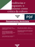 Tendencias e Impasses Feminismo