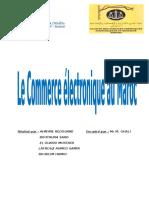 Le Commerce Electronique Au Maroc