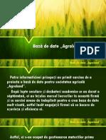 Bază de Date Agroland