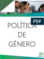 Politica de Genero