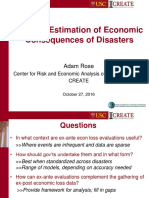 Adam Rose - Economic Consequence Analysis of Disasters (1)