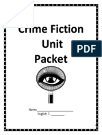 2019 History of Crime Fiction and Important Terms