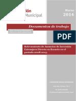 4 Relevamiento de Ied en Rosario en El Periodo 2008 2013 00