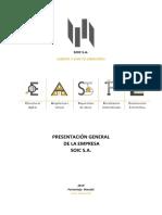 Presentación de La Empresa Soic s.A