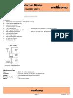 1.5KE Series Protection Diodes