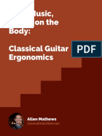 Classical Guitar Ergonomics