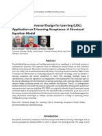 The Effect of Universal Design for Learning UDL AP