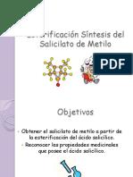 síntesis de salicilato