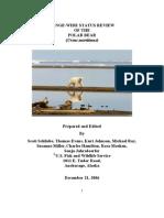Polar Bear Status Assessment