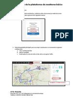 Manual Uso de Plataforma Basico