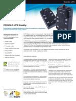 CyberPower Especificaciones CP350SLG - 2015