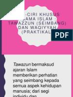 Tawazzun Dan Waqiyyah