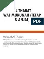 Thabat Wal Murunah 1