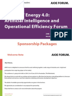 Sponsor Pack The Global Artificial Intelligence and Operational Efficiency For Energy  ​ 20th-21st of June 2019