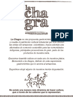 Carta La Chagra Nueva Noche