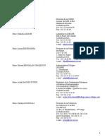Liste Du Cnp