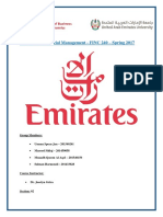 FINC240 Project 2017- Emirates Airline.docx