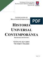 Programa Historia Universal